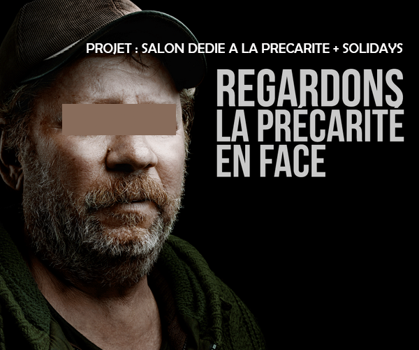 1ER SALON DEDIE A LA PRECARITE + SOLIDAYS